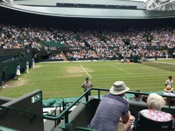 Wimbledon, Court No. 1, secção: 14, fila: A, lugar: 100