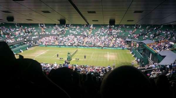 Wimbledon, Centre Court, secção: 502, fila: ZA, lugar: 25
