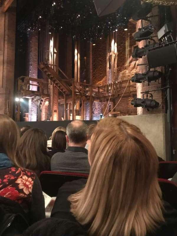 CIBC Theatre, secção: ORCH-R, fila: F, lugar: 20