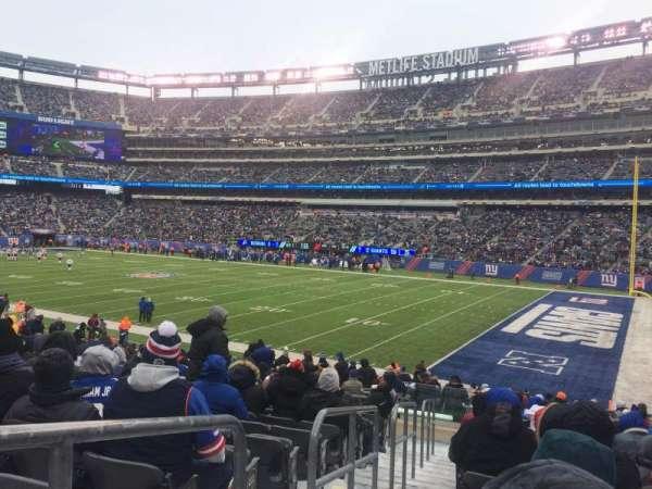 Metlife Stadium, secção: 133, fila: 24, lugar: 23