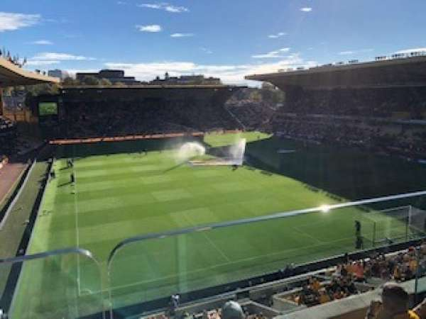 Molineux Stadium, secção: PU2, fila: B, lugar: 24
