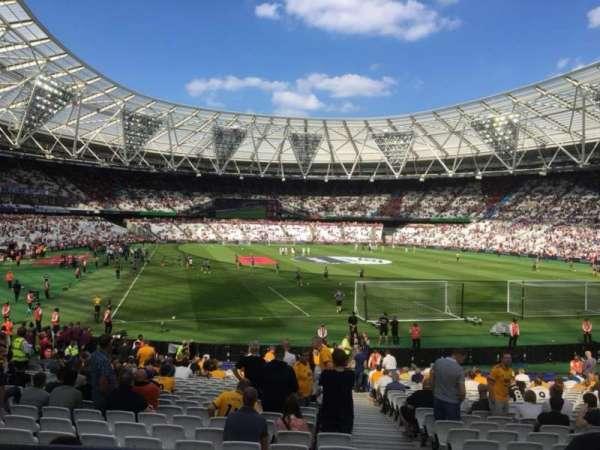 London Stadium, secção: Away Disabled Section