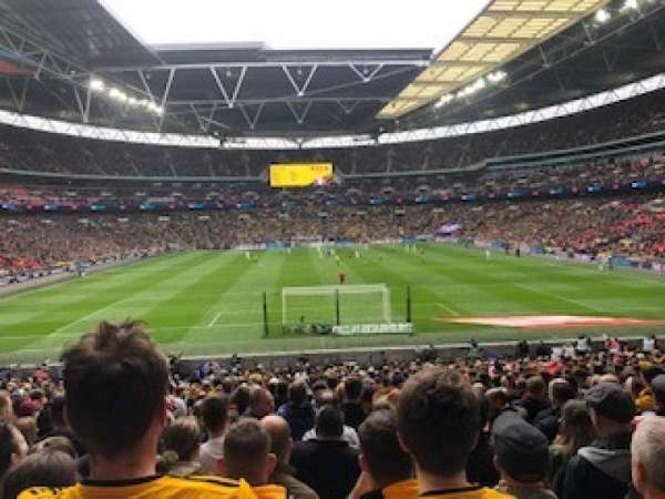 Wembley Stadium, secção: Block 112
