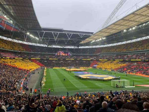 Wembley Stadium, secção: 114, fila: 40, lugar: 68