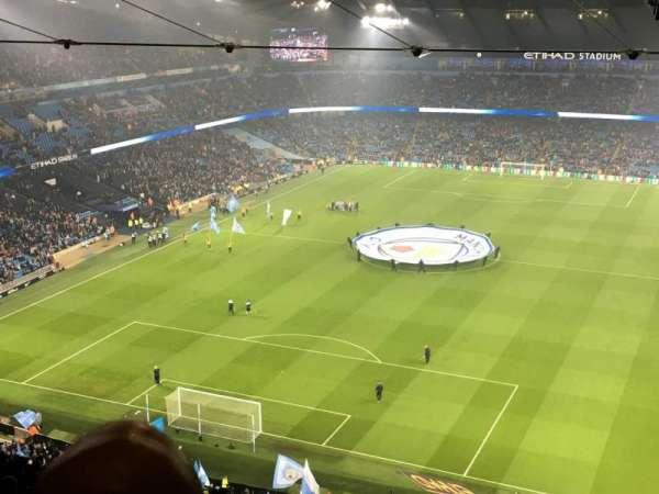 Etihad Stadium (Manchester), secção: 313, fila: FF, lugar: 344