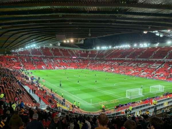 Old Trafford, secção: E231, fila: 29, lugar: 43