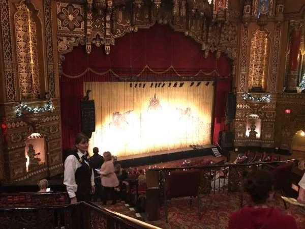 The Fabulous Fox Theatre (St. Louis), secção: BA02, fila: B, lugar: 23