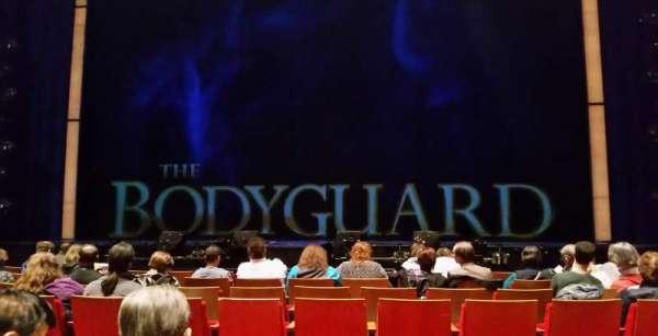 Durham Performing Arts Center, secção: Orchestra 3, fila: H, lugar: 106