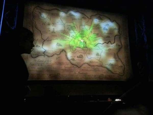 Altria Theater, secção: Orch-C, fila: A