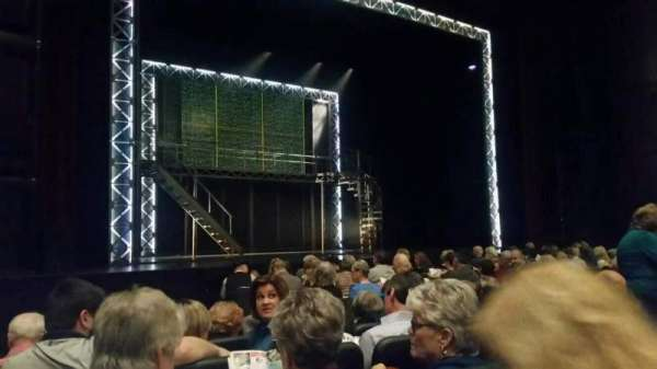 Raleigh Memorial Auditorium, secção: B, fila: E, lugar: 8