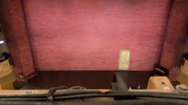 Shubert Theatre, secção: Balcony C, fila: A, lugar: 107