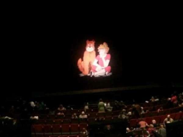 Durham Performing Arts Center, secção: Grand Tier 6, fila: A, lugar: 122