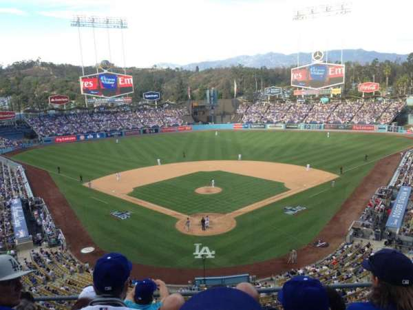 Dodger Stadium, secção: Preferred Reserve 44, fila: O, lugar: 5