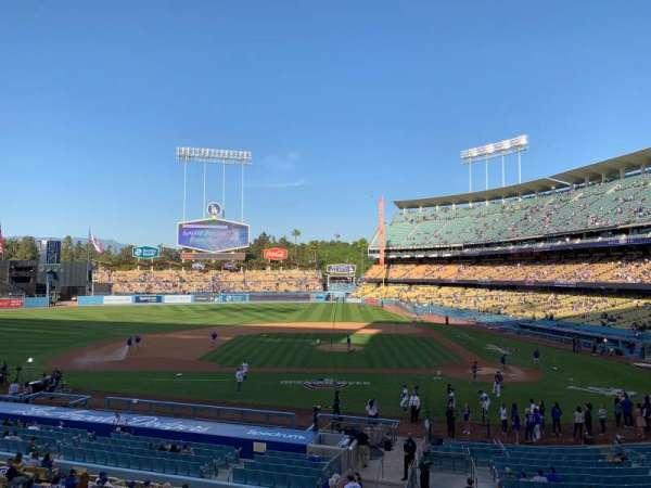 Dodger Stadium, secção: Loge Box MVP 125, fila: A, lugar: 3