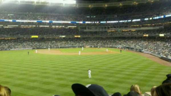 Yankee Stadium, secção: 236, fila: 9, lugar: 8
