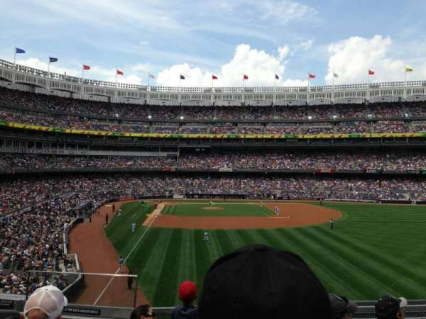 Yankee Stadium, secção: 206, fila: 5, lugar: 14