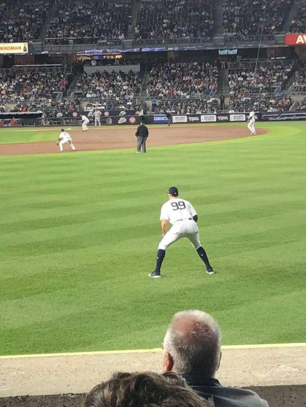Yankee Stadium, secção: 104, fila: 5, lugar: 22