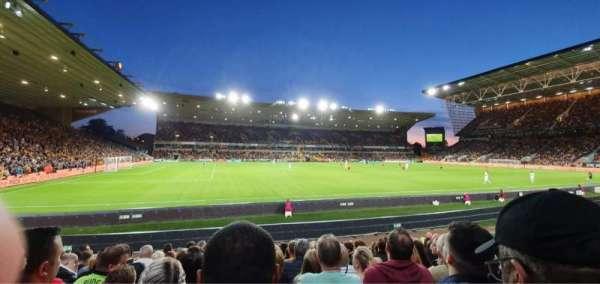 Molineux Stadium, secção: JL8, fila: L, lugar: 229