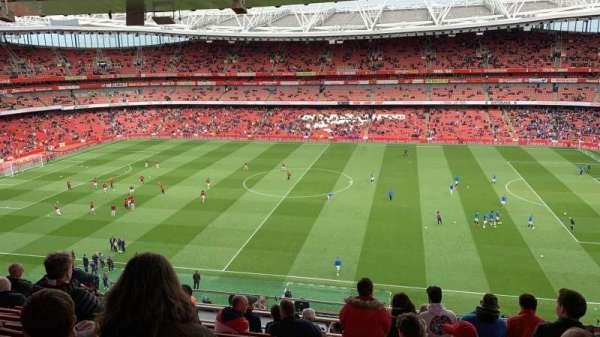 Emirates Stadium, secção: 133, fila: 12, lugar: 1178