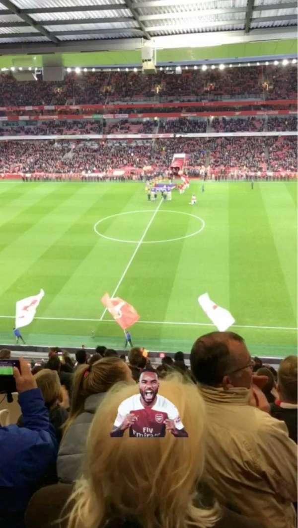 Emirates Stadium, secção: 112, fila: 15, lugar: 584