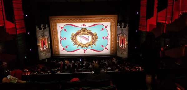 Paramount Theatre (Seattle), secção: Mezzanine 14, fila: E, lugar: 1