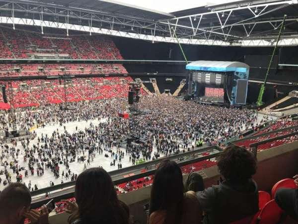 Wembley Stadium, secção: 504, fila: 3, lugar: 120