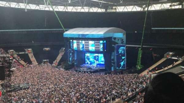 Wembley Stadium, secção: 504, fila: 3, lugar: 117