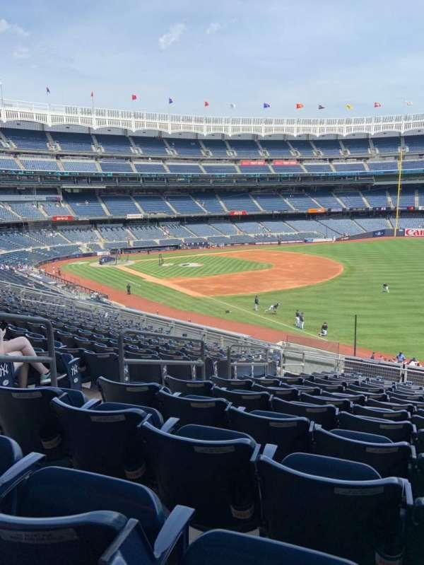 Yankee Stadium, secção: 210, fila: 13, lugar: 15
