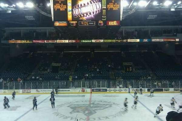 Stockton Arena, secção: 122, fila: 11, lugar: 11