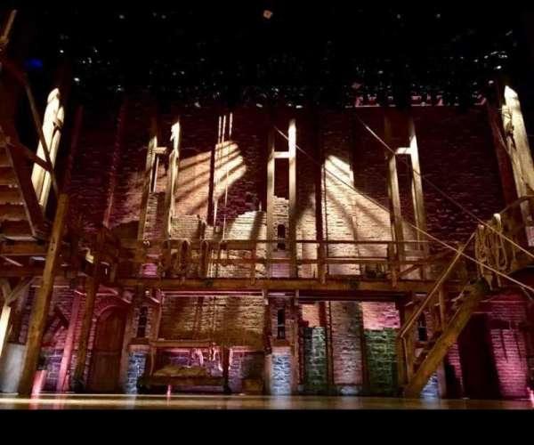 Richard Rodgers Theatre, secção: Orchestra C, fila: A, lugar: 108