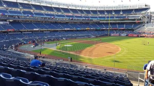 Yankee Stadium, secção: 213, fila: 10, lugar: 1