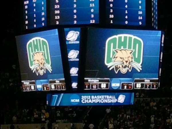 Bridgestone Arena, secção: 108, fila: Q, lugar: 2