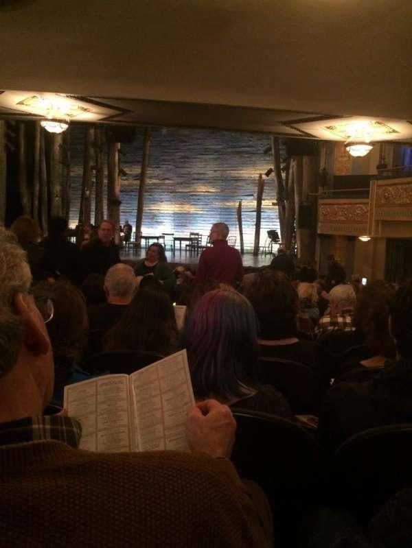 Gerald Schoenfeld Theatre, secção: Orchestra R, fila: S, lugar: 12