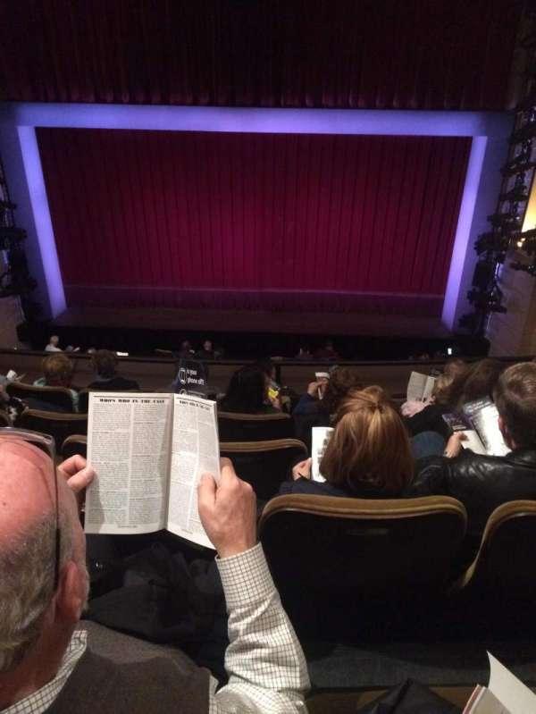 Samuel J. Friedman Theatre, secção: Mezzanine C, fila: D, lugar: 113