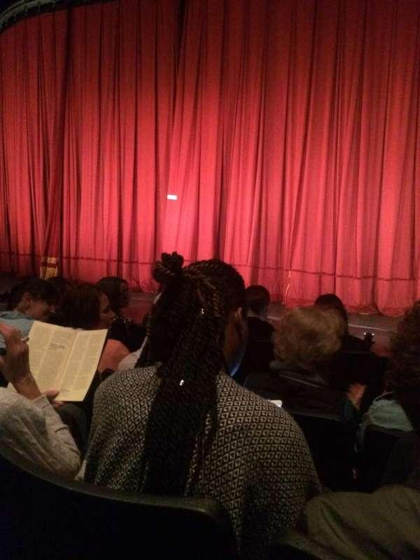 The Pearl Theatre Company, secção: Orch Right, fila: D, lugar: 117