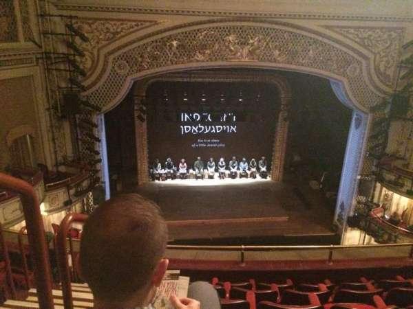 Cort Theatre, secção: Balcony C, fila: F, lugar: 101