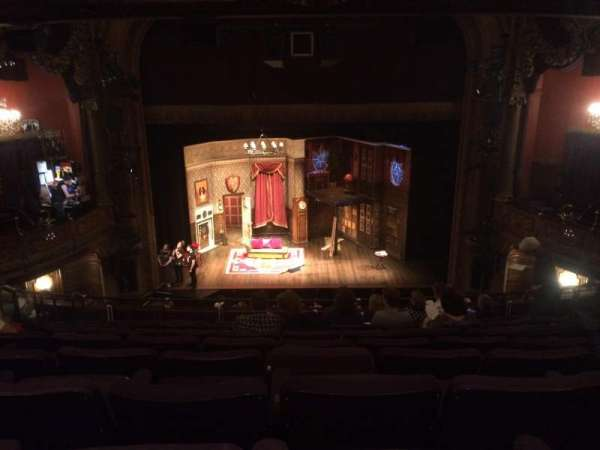 Lyceum Theatre (Broadway), secção: Mezzanine C, fila: J, lugar: 108