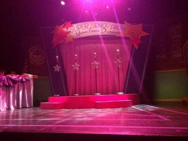 Kirk Theatre, secção: ORCH, fila: B, lugar: 3