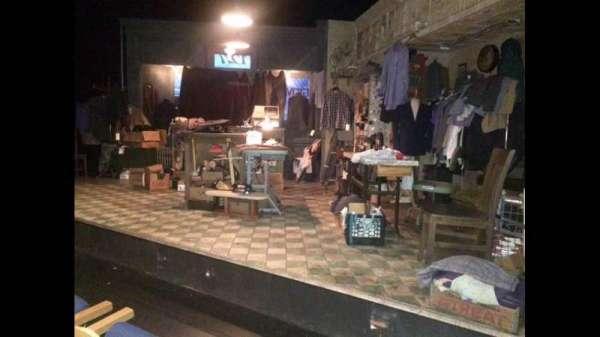 59E59 Theater A, secção: ORCH, fila: B, lugar: 14