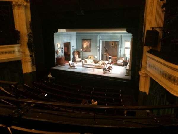 Hudson Theatre, secção: Dress Circle R, fila: C, lugar: 6