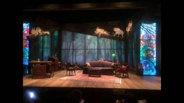 Westside Theatre, secção: Orch Front, fila: E, lugar: 105