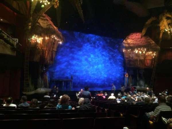 Marquis Theatre, secção: Orchestra L, fila: R, lugar: 5