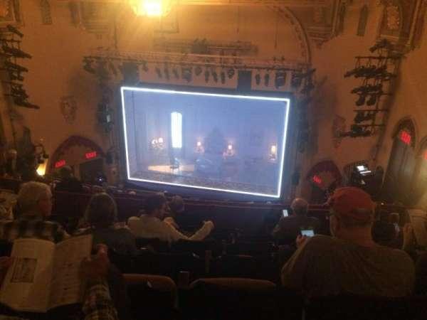John Golden Theatre, secção: Rear Mezz, fila: G, lugar: 118