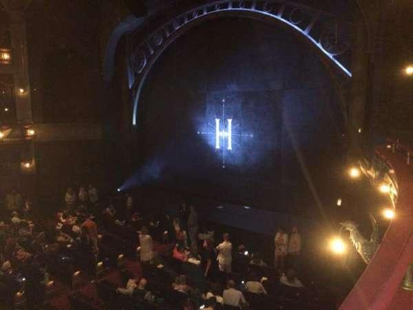 Lyric Theatre, secção: Dress Circle Right, fila: A, lugar: 22