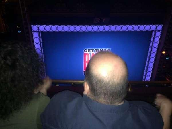 Belasco Theatre, secção: Balcony, fila: F, lugar: 103