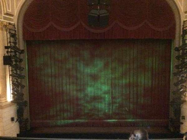 Samuel J. Friedman Theatre, secção: Mezzanine C, fila: A, lugar: 110