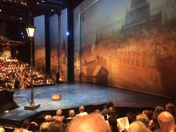 Vivian Beaumont Theater, secção: Orch, fila: J, lugar: 507