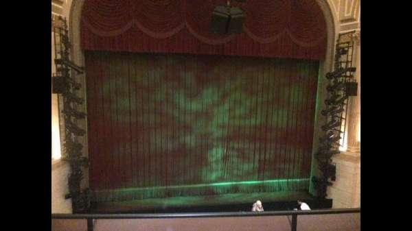 Samuel J. Friedman Theatre, secção: Mezzanine C, fila: A, lugar: 106