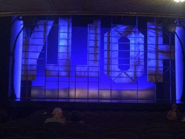 Nederlander Theatre, secção: Orch, fila: P, lugar: 111