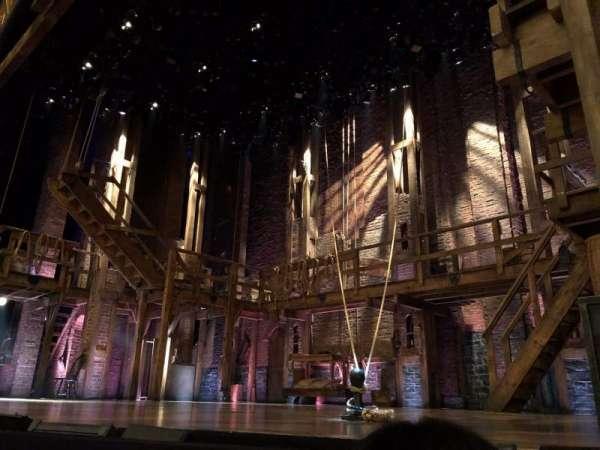 Richard Rodgers Theatre, secção: Orch Right, fila: A, lugar: 8
